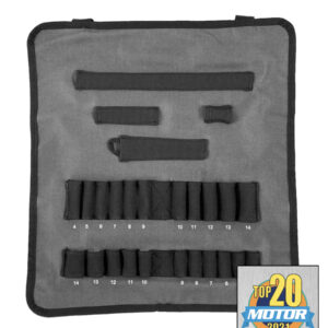 Socket Organizer - Socket Roll Metric Pro